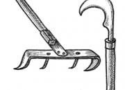 Ilustrácia - Hrable alebo hák